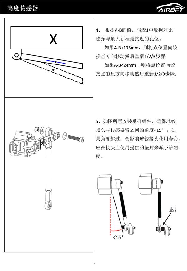 V4-PH3高度传感器安装调试手册