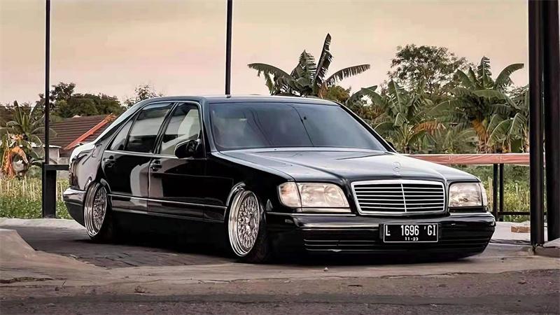 虎头奔经典案例 奔驰W140气动避震低趴来袭